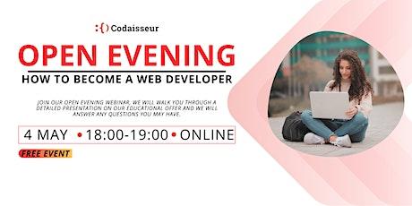 Codaisseur Academy Open Evening Webinar tickets