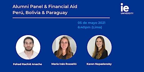 Alumni Panel & Financial Aid - Perú, Bolivia & Paraguay tickets