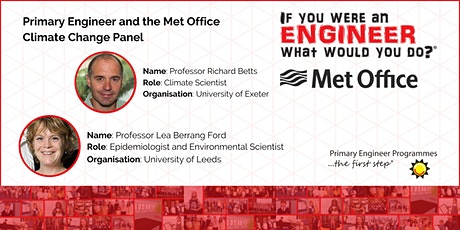 Climate Change Panel Interview with the Met Office tickets