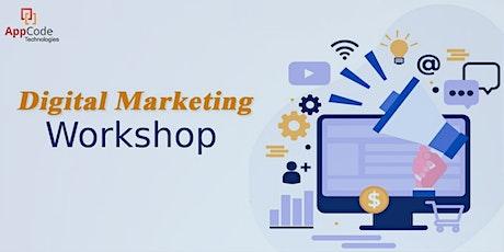 Digital Marketing workshop by AppCode Technologies biglietti