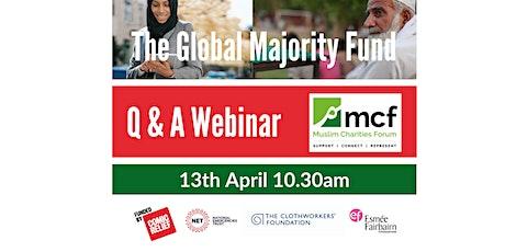 MCF  - The Global Majority Fund - Q&A Webinar tickets