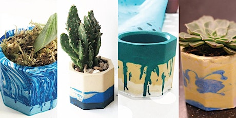 Jesmonite Plant Pot Workshop at Globe Arts tickets
