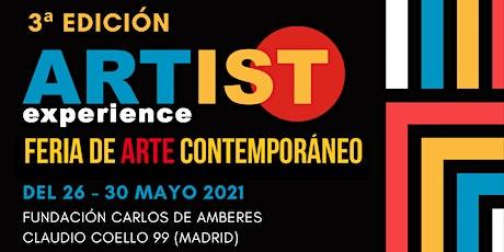 ARTIST EXPERIENCE MAYO 2021 entradas