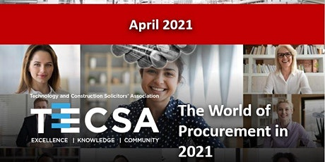 The World of Procurement in 2021 tickets