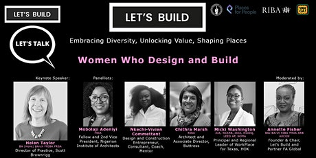 LET'S TALK: Women Who Design and Build tickets