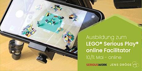 offizielle SERIOUSWORK Ausbildung zum LEGO Serious Play ONLINE Facilitator tickets