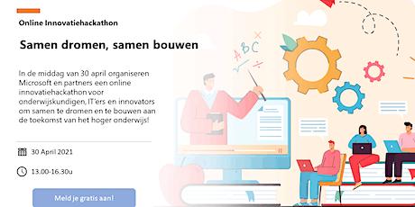 Innovatiehackaton - Samen dromen, samen bouwen tickets