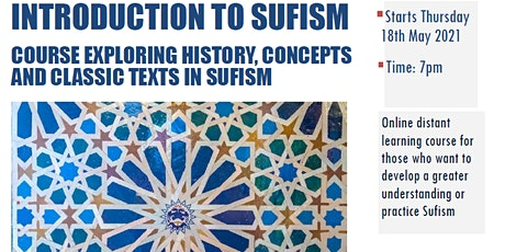 Introduction to Sufism tickets
