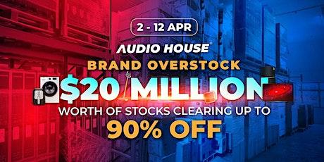 Brand Overstock Sale tickets