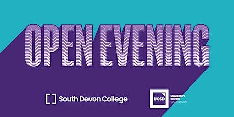 South Devon College Adult Advice Open Evening tickets