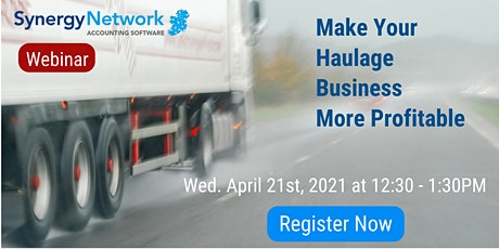Make Your Haulage Business More Profitable tickets