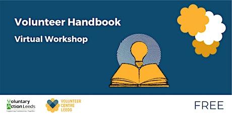 Volunteer Handbook Workshop tickets