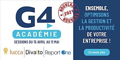 G4 Académie - Présentation et Démo de la plateforme CRM Weavy by Divalto billets