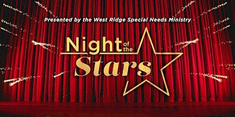 Night of the Stars - Volunteer Registration tickets