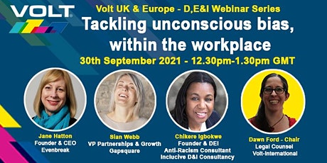 Tackling Unconscious bias within the workplace tickets