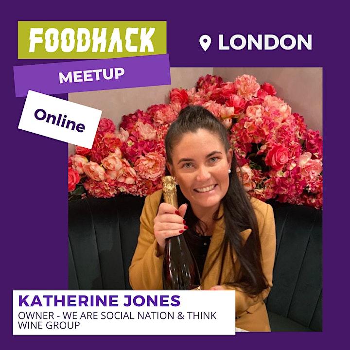 FoodHack London Virtual Meet up - April 2021 image