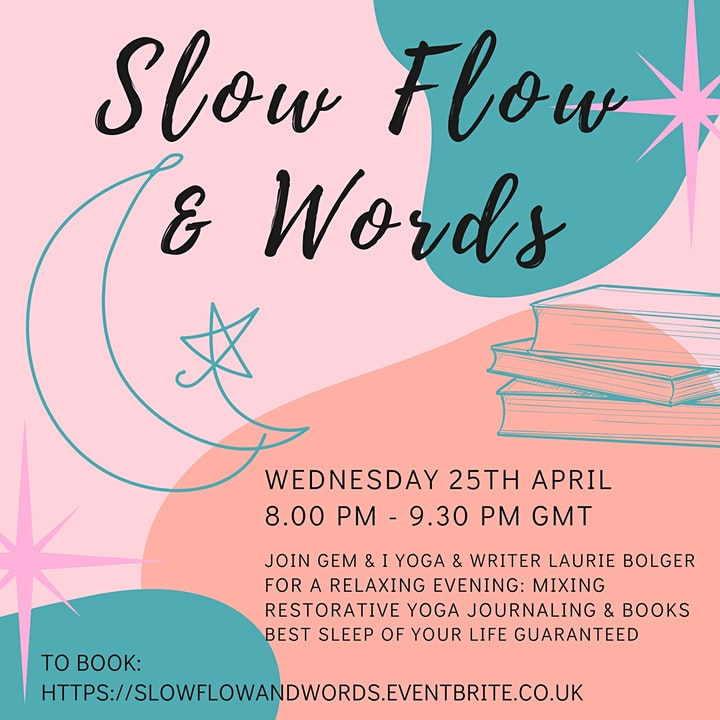 Slow Flow Yoga & Words - Gentle Yoga with Storytelling and Creative Writing image
