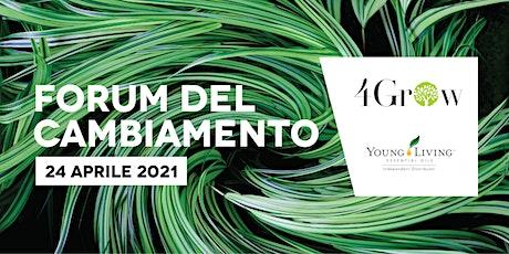 Forum del Cambiamento 24 APRILE 2021 biglietti