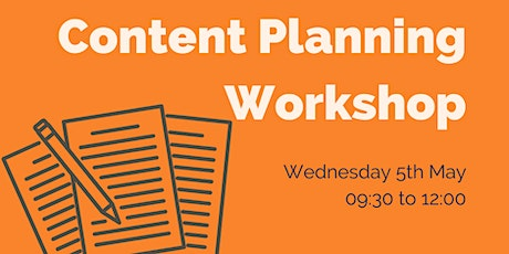 Content Planning Workshop tickets