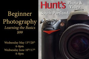 Beginner Photography- South Portland Only