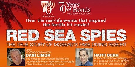 RED SEA SPIES - THE TRUE STORY OF MOSSAD'S FAKE DIVING RESORT tickets