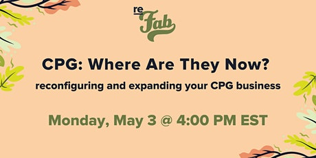 CPG: Where Are They Now? tickets