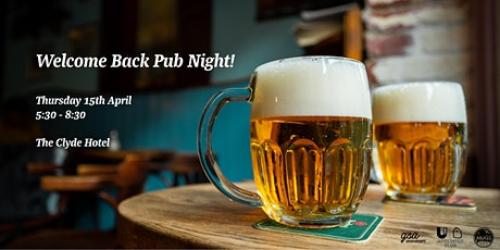 MUGS Welcome Back Pub Night! tickets