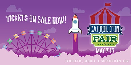 2021 Carrollton Fair - May 7-15! tickets