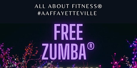 FREE Fayetteville-Area All About Fitness Zumba tickets