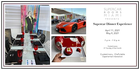 Artwalk and Supercars Dining Experience *Art, Cars and Food* Wynwood tickets