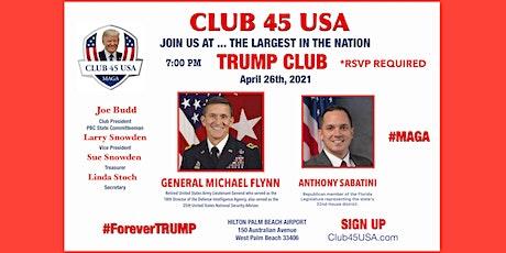 CLUB 45 USA APRIL 26, 2021 MEETING tickets