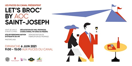 Let's Broc by AOC Saint-Joseph tickets