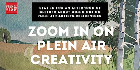 Zoom in on Plein Air Creativity tickets