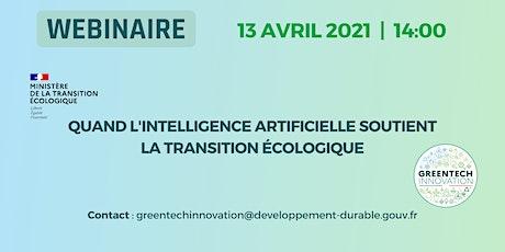 Intelligence artificielle & Transition Écologique billets