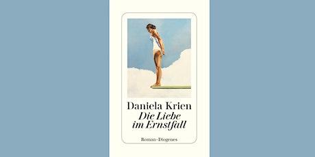 "German Book Club: Daniela Krien ""Die Liebe im Ernstfall"" tickets"