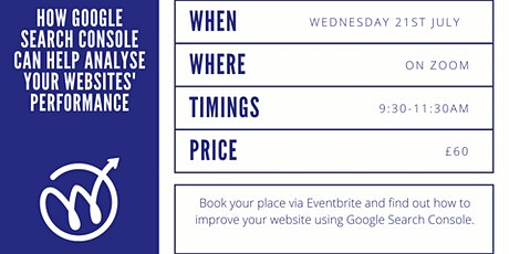 How Google Search Console can Help Analyse Your Websites' Performance tickets