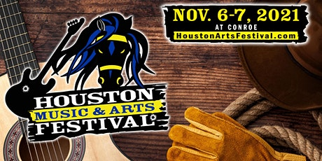 Houston - Conroe Music & Arts Festival at Heritage Place Park - Fall 2021 tickets