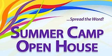 Summer Camp Open House tickets