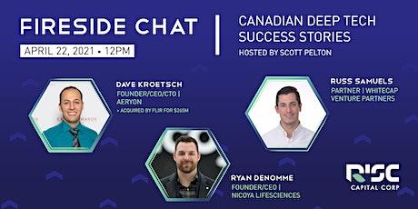 Fireside Chat: Canadian Deep Tech Success Stories tickets