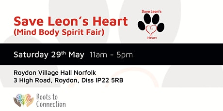 Mind Body Spirit Fair 29th May 2021 £2.50 Entrance Fee to pay tickets
