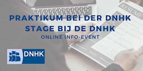 Online Info-Event Praktikum bei der Deutsch-Niederländischen Handelskammer Tickets