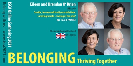 E. and B. O'Brien – Suicide, Trauma and Family Constellations tickets