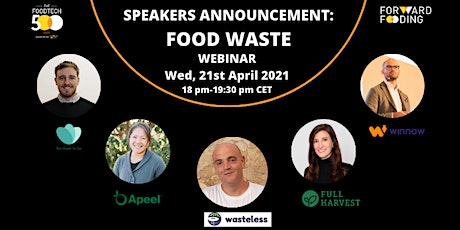 [Special online event] 2020 Food Tech 500: Food Waste tickets