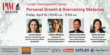 Career Development Series: Personal Growth & Overcoming Obstacles tickets