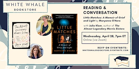 "Reading & Conversation: ""Little Matches"" by Maryanne O'Hara (w/ Julie Klam) tickets"