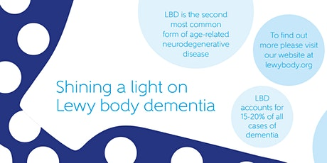 Living with Lewy body dementia - staying active and the role of exercise tickets