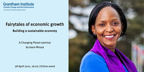 Fairytales of economic growth: building a sustainable economy tickets