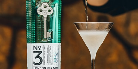 A CELEBRATION OF WORLD MARTINI DAY WITH NO.3 LONDON DRY GIN - FREE tickets