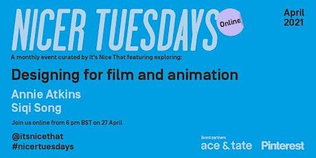 Nicer Tuesdays Online: April tickets