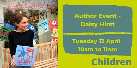Story and illustration with author Daisy Hirst tickets